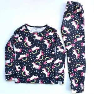 Carter's rainbow unicorn pajamas size 5T